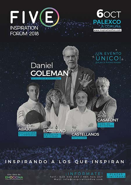 Se avecina el evento más inspirador: FIVE Inspiration Forum 2018